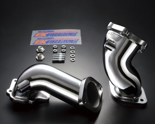 Tomei Stainless Turbo Turbine Elbow Outlet Pipes Nissan Skyline R32 RB26DETT 89-94