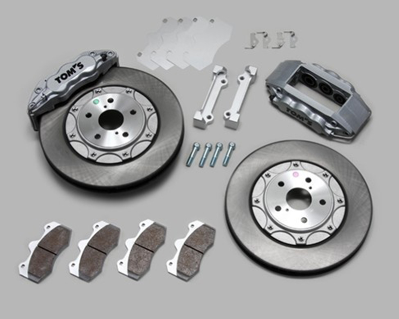 Tom's Racing Front 13in. and Rear 13in. Performance Big Brake Kit Lexus IS200t 16-17