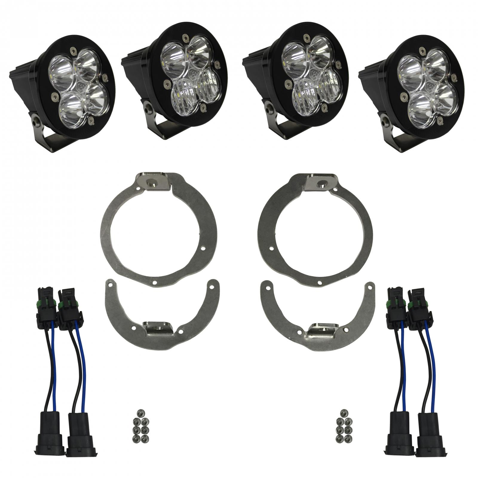 Baja Designs Can-Am Headlight Kit 13-16 Maverick/11-16 Renegade Kit Unlimited
