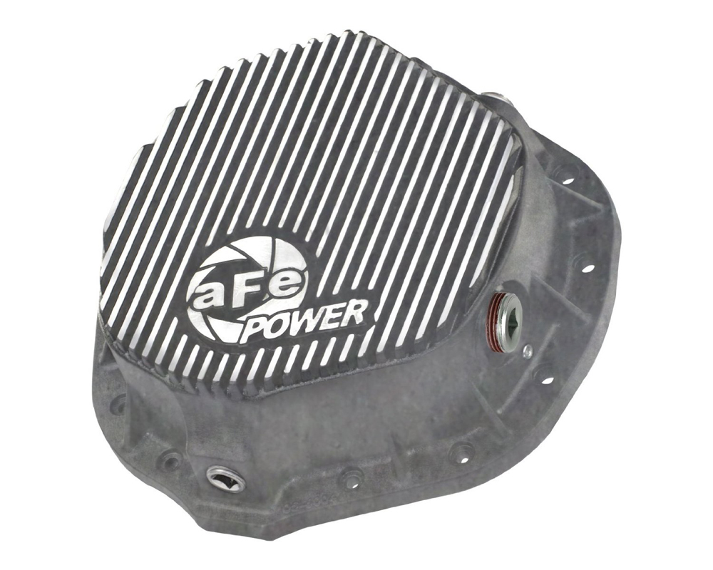 aFe Power Raw Rear Differential Cover Dodge Ram 2500 | 3500 Cummins L6 5.9 | 6.7L 03-13