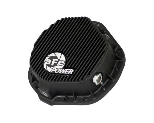 aFe Power Black Rear Differential Cover Chevrolet 1500 Duramax V8 6.6L 01-12