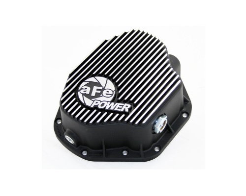 aFe Power Machined Rear Differential Cover Ford F-450 Power Stroke V8 6.0/7.3L 99-07