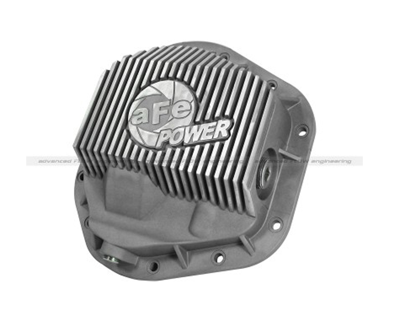 aFe Front Differential Cover Raw Street Series Ford F-250 F-350 Excursion Trucks 94-15