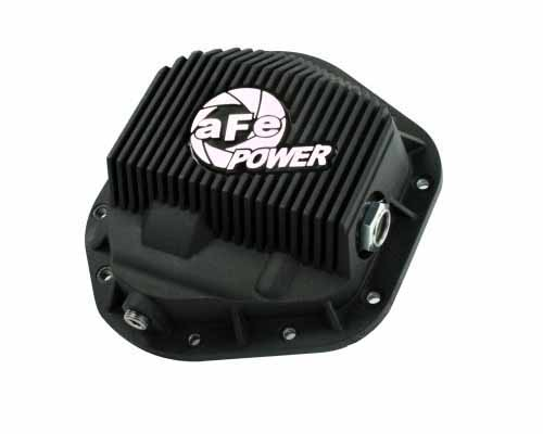 aFe Power Black Front Differential Cover Ford F-450 Power Stroke V8 94.5-12