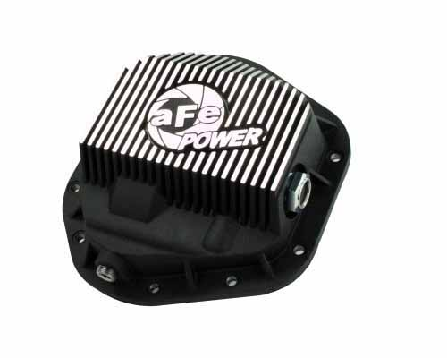 aFe Power Machined Front Differential Cover Ford F-350 Power Stroke V8 94.5-12