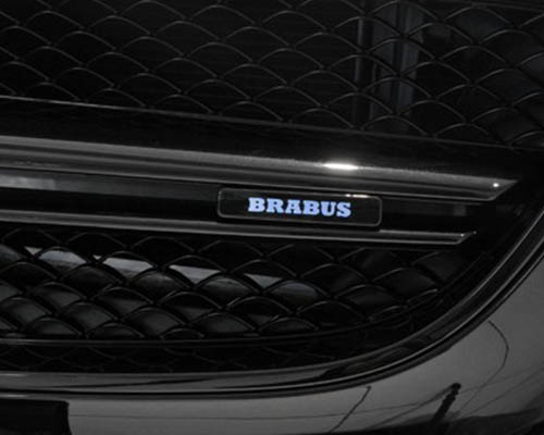 Brabus Illuminated Front Grille Logo  Mercedes Benz G63 | G65 AMG 12-17