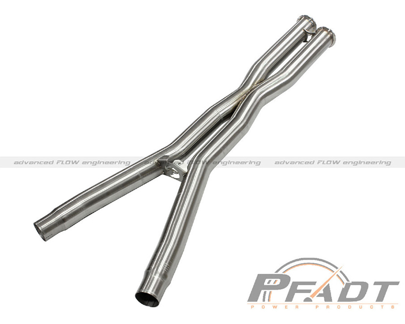aFe PFADT Series X-Pipe Chevrolet Corvette C6 V8-6.0|6.2L Race 05-08