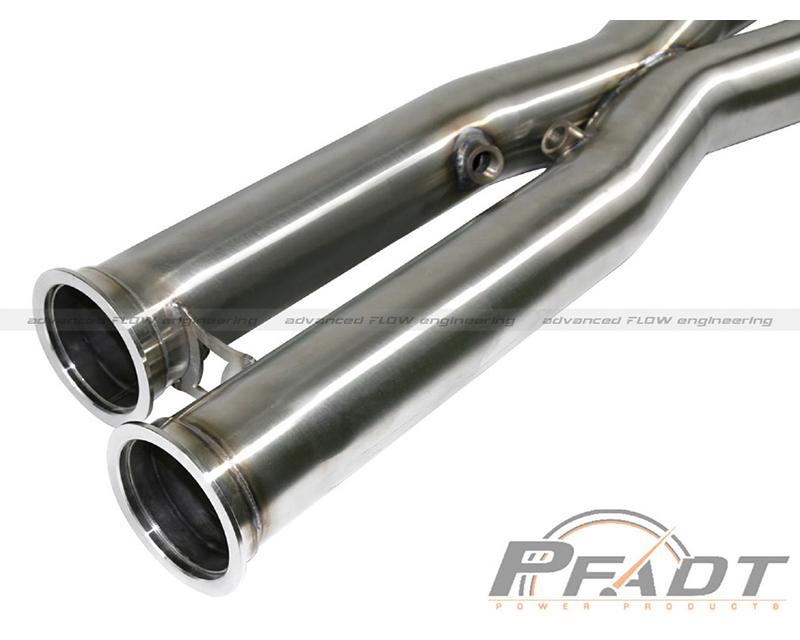 aFe PFADT Series X-Pipe Chevrolet Corvette C6 Z06 V8-6.2|7.0L Race 06-13