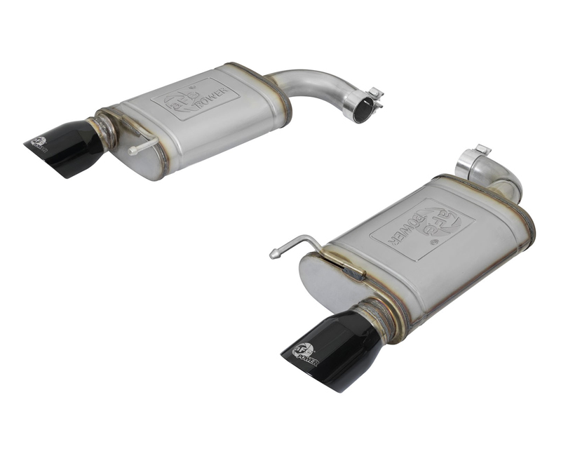 "aFe POWER  MACH Force-Xp 2-1/2"" 409 Stainless Steel Axle-Back Exhaust System Ford Mustang 15-17"