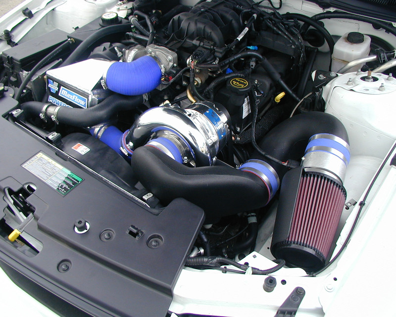 Vortech Supercharging System With V 3 Si Trim And Charge Cooler Polished Chevrolet Silverado 2500 HD 6.0L 04