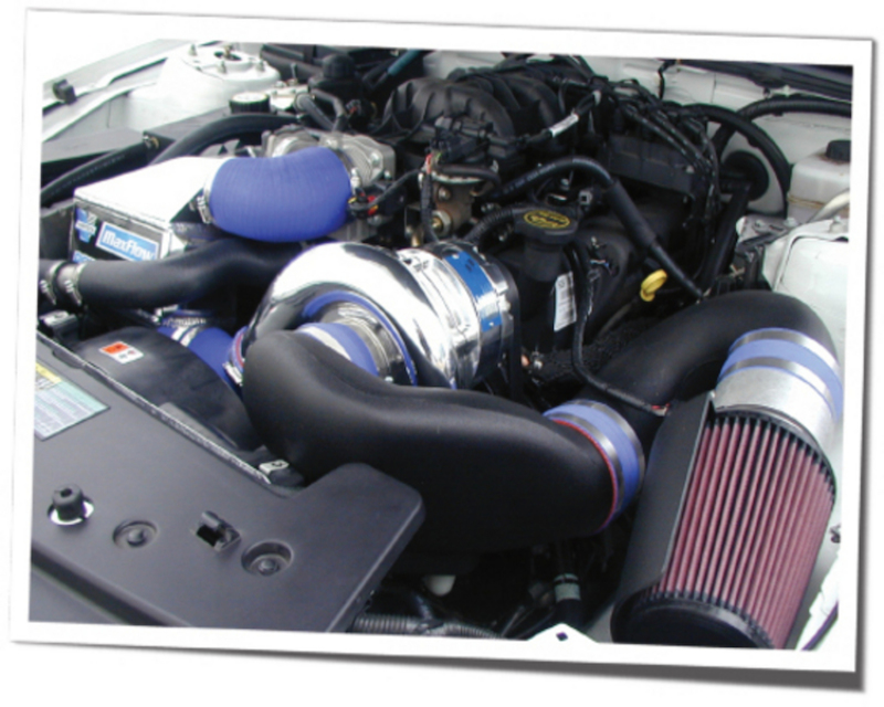 Vortech Supercharging System With V 2 Si Trim And Charge Cooler Satin Ford Mustang 4.0 V6 07-08