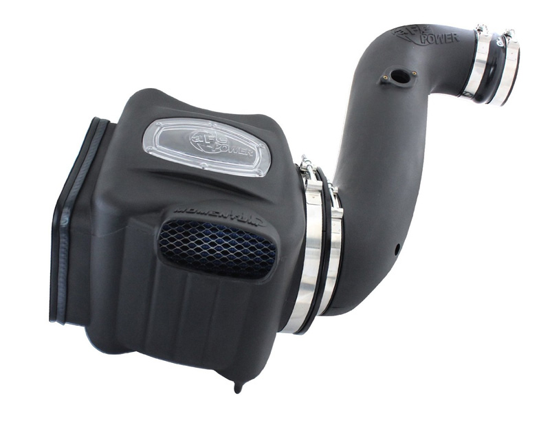 aFe Momentum HD PRO Dry S Stage 2-Si Intake System Chevrolet Silverado 2500 Diesel V8 6.6L 06-07
