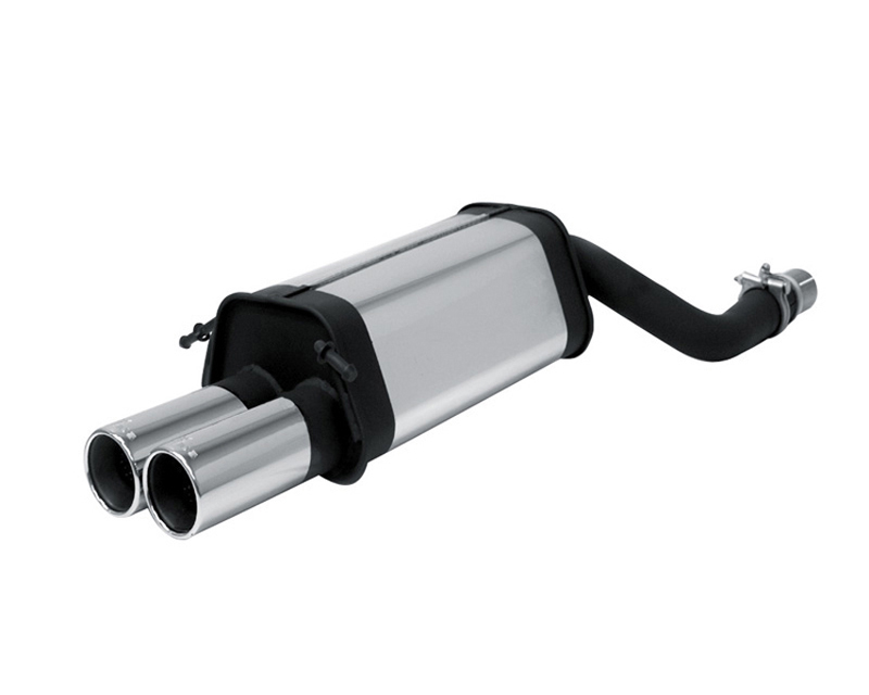 REMUS Dual Tip Rear Muffler Mercedes-Benz C230K Compressor 1.8L W203 Sedan and T-Models 00+