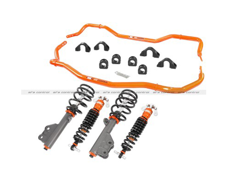 afe Control Series Stage 2 Suspension Package Ford Mustang EcoBoost 2.3L 2015