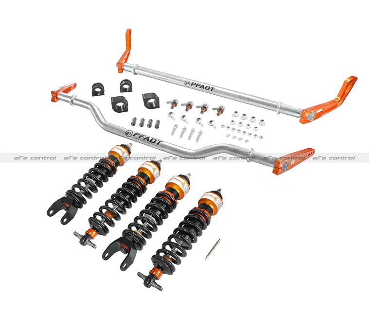 aFe Control PFADT Series Stage 2 Suspension Package Chevrolet Corvette C6 05-13