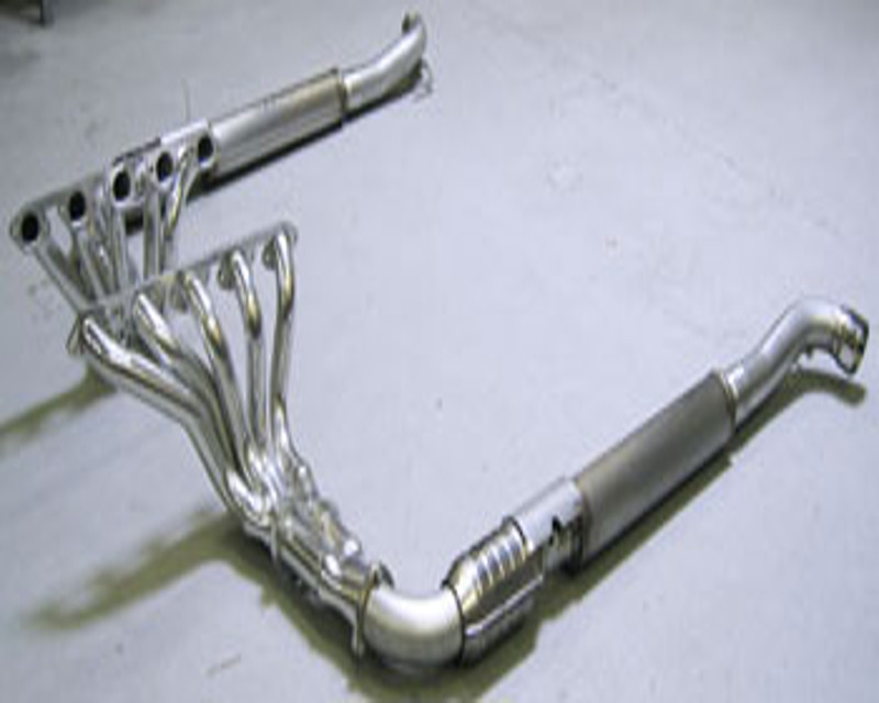 side pipe exhaust kit