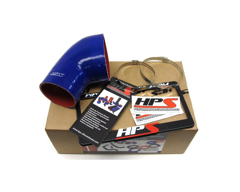 HPS Silicone Air Intake Hose Post MAF Tube Blue BMW M3 01-06