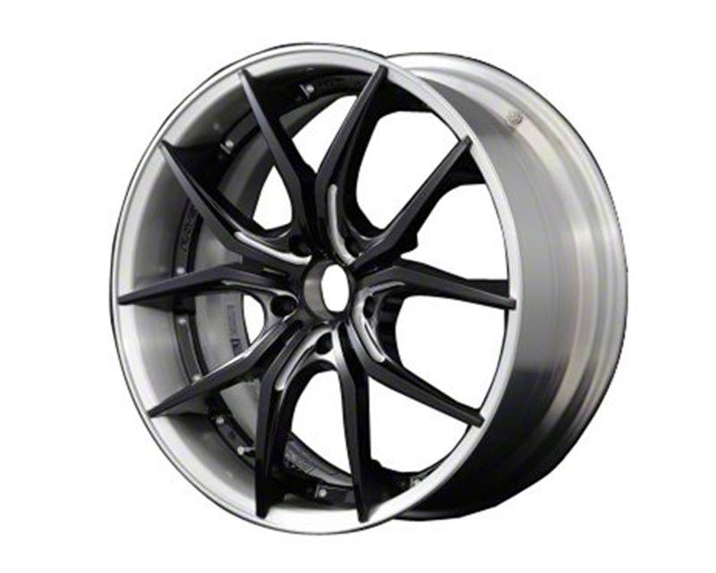 57Motorsport Black & Machining w| Brushed Rim G07FXX Pro Wheel 20x8.5 5x120 38mm - 57MSFXXP-2085-512038
