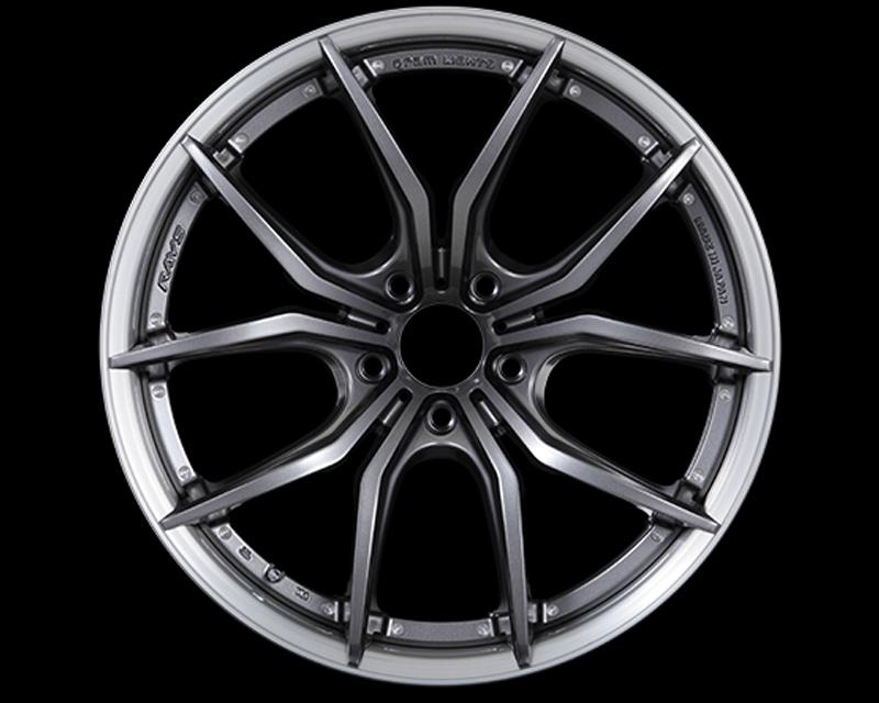 57Motorsport Dark Gunmetal w| Brushed Rim G07FXX Pro Wheel 20x8.5 5x120 38mm - 57MSFXXP-2085-512038