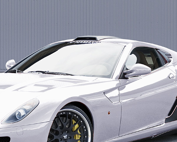 Hamann Carbon Fiber Roof Scoop Ferrari 599+
