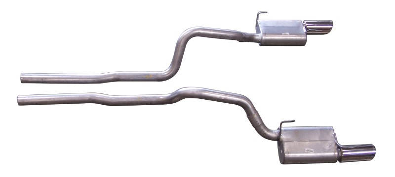 Gibson Performance Stainless Cat-Back Dual Exhaust System - 619006