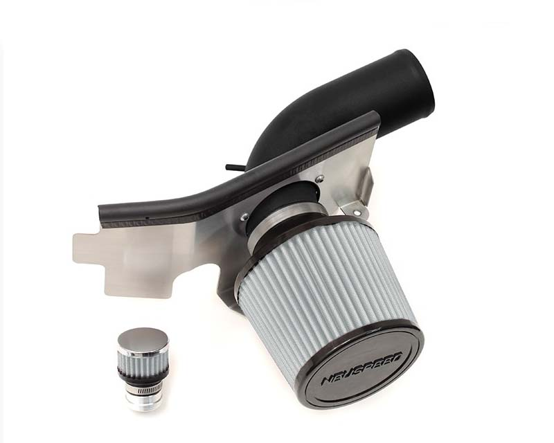Neuspeed Black Wrinkle P-Flo Air Intake Kit with Dry Filter Volkswagen Jetta GLI 1.8L TSI with pump 13-14