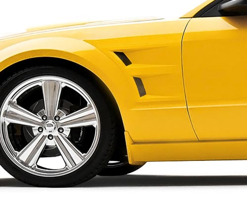 3dCarbon Front Fender Vents Ford Mustang 05-09