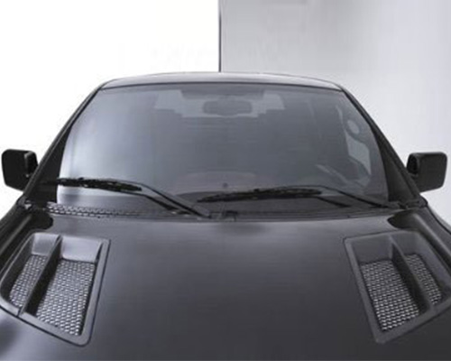 3dCarbon Hood Vent W/ Grille Ford F-150 04-07