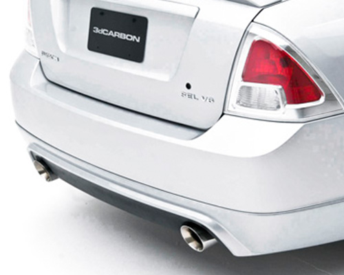 3dCarbon Chrome Exhaust Extensions Ford Fusion V6 06-09