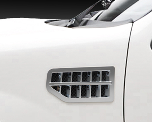 3dCarbon Fender Vents Chrome Plated  Ford Expedition 03-12