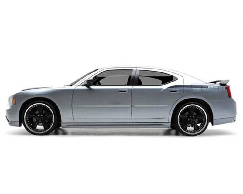 3dCarbon Left Side Skirt Dodge Charger 05-10