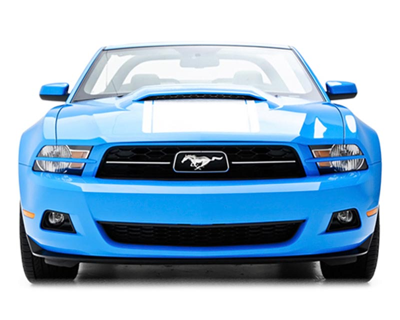 3dCarbon Headlight Splitters Ford Mustang V6 10-12