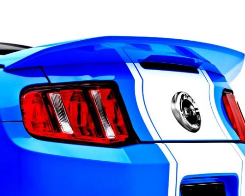 3dCarbon 3d500 Rear Spoiler Ford Mustang 10-14
