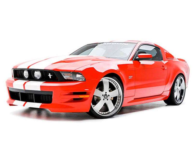3dCarbon 4PC Body Kit Ford Mustang GT & V6 10-12