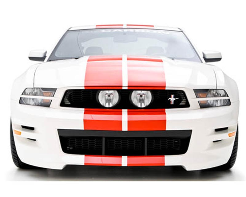 3dCarbon Front Bumper Replacement Mustang GT & V6 10-12