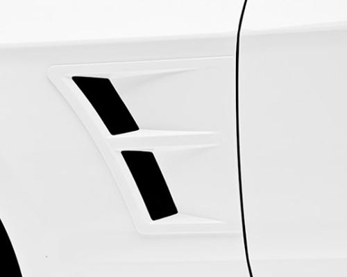 3dCarbon Front Fender Vents Ford Mustang 10-14