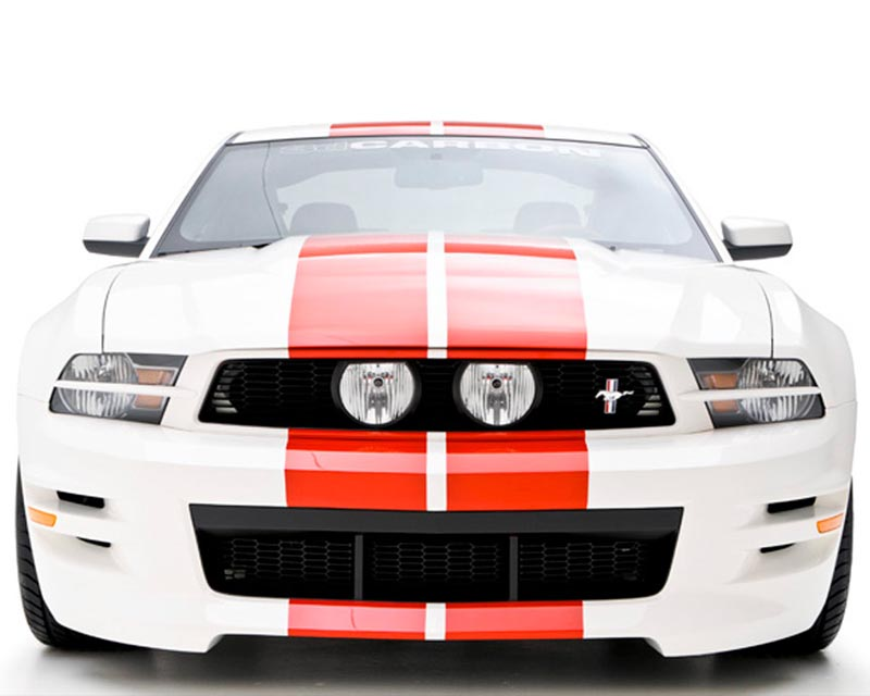 3dCarbon E Style Grille Ford Mustang 10-12