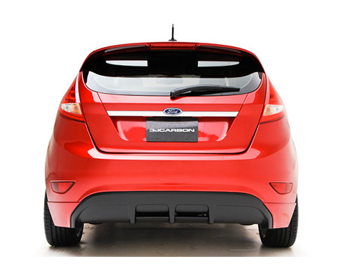3dCarbon Rear Lower Ford Fiesta Hatchback 11-13