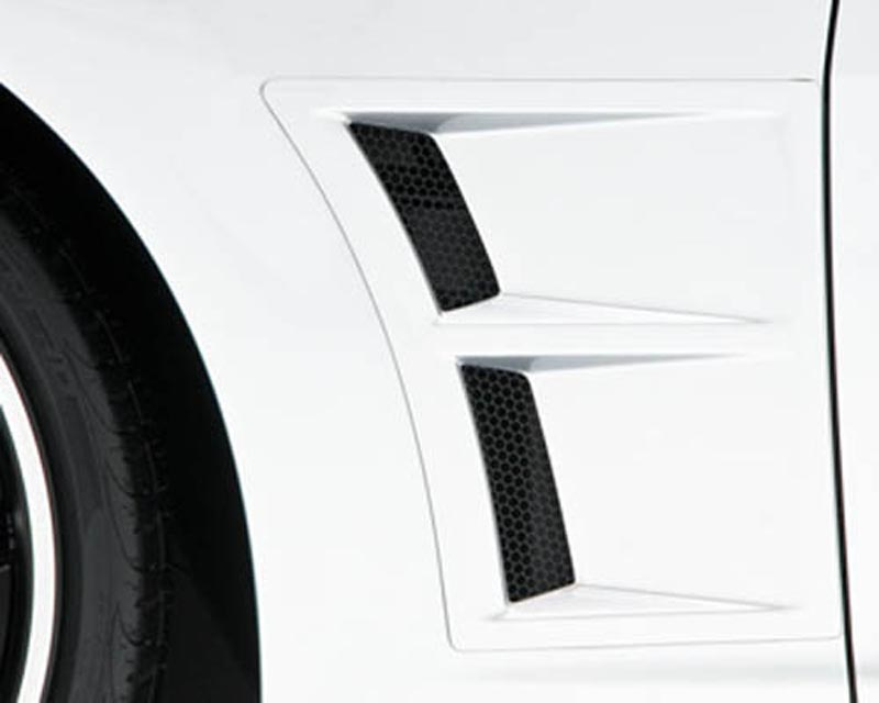 3dCarbon Front Fender Vents (Pair) Chevrolet Camaro SS & RS 10-14