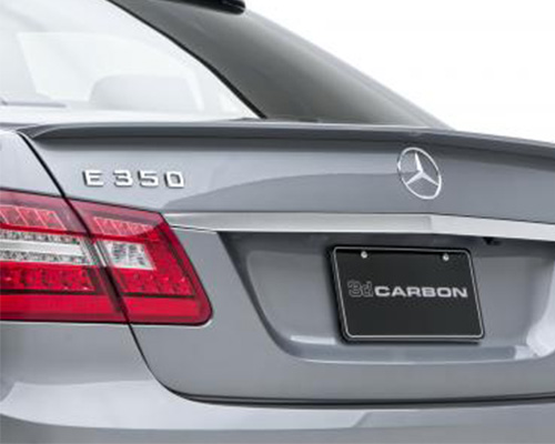 3dCarbon Rear Lip Spoiler Mercedes Benz E Class 11-12