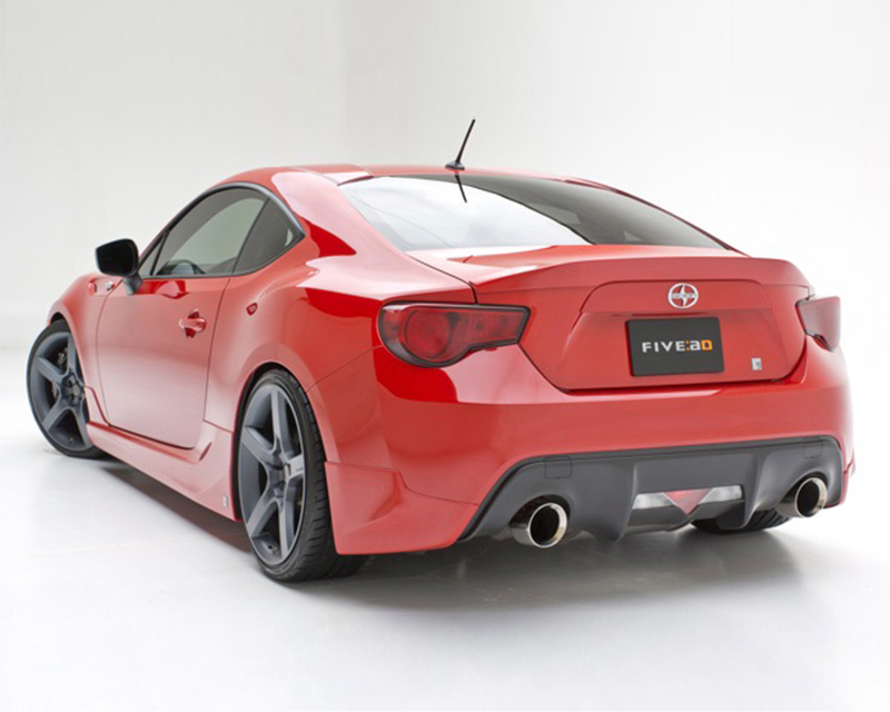 3dCarbon Right Rear Valance Scion FRS 13-14