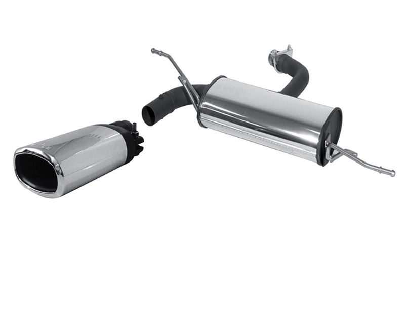 REMUS PowerSound Muffler w/Valve Control & 142x72mm Tips Audi A3 1.6L & 1.8L 97-03