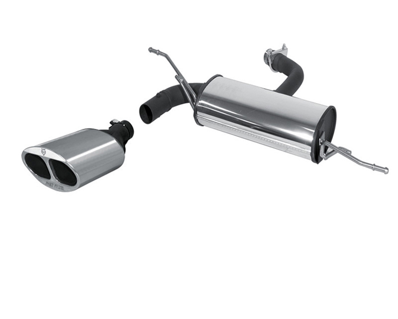 REMUS PowerSound Muffler w/Valve Control & 150x85mm Tips Audi A3 1.6L & 1.8L 97-03
