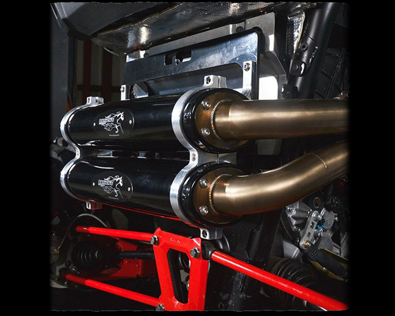 7APE-1000XPRZR-14 Barker's Performance | Full Dual Exhaust System