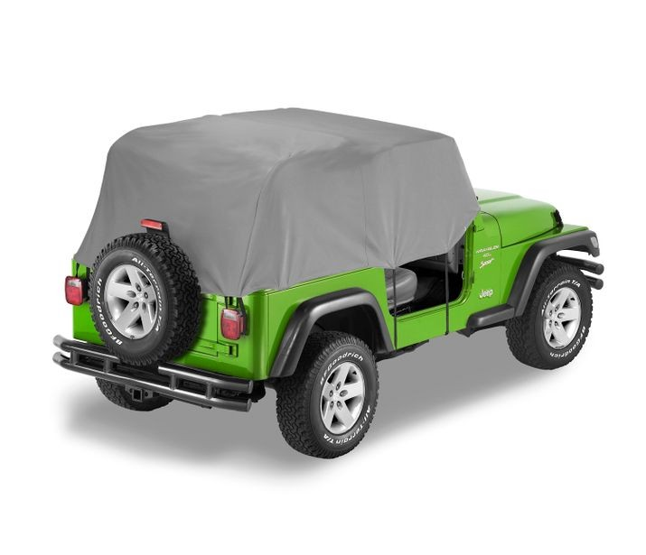 Jeep YJ Trail Cover All Weather For 92-95 Jeep YJ Wrangler Charcoal/Gray Bestop