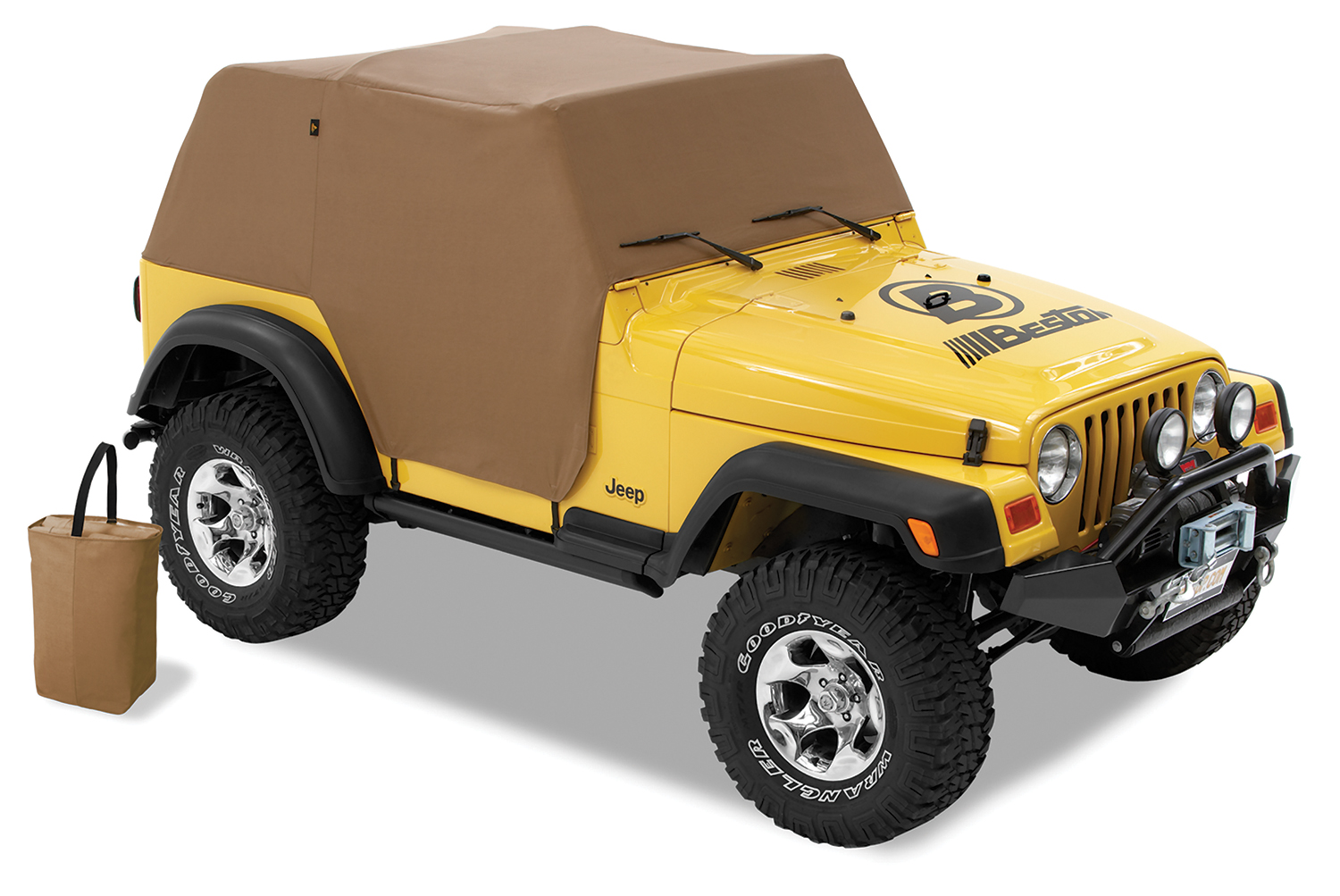Jeep YJ Trail Cover All Weather For 92-95 Jeep YJ Wrangler Spice Bestop