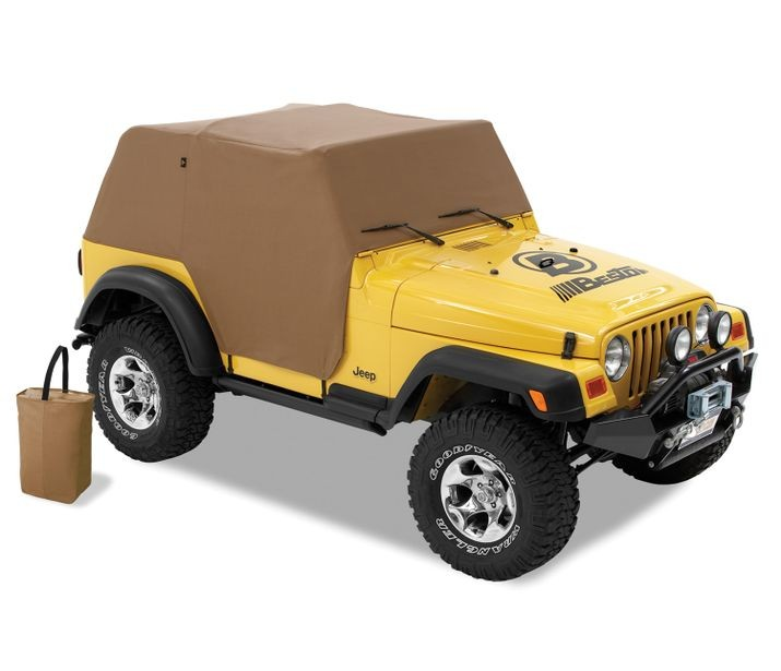 Jeep TJ Trail Cover All Weather For 1997-2006 Jeep TJ Wrangler Spice Bestop