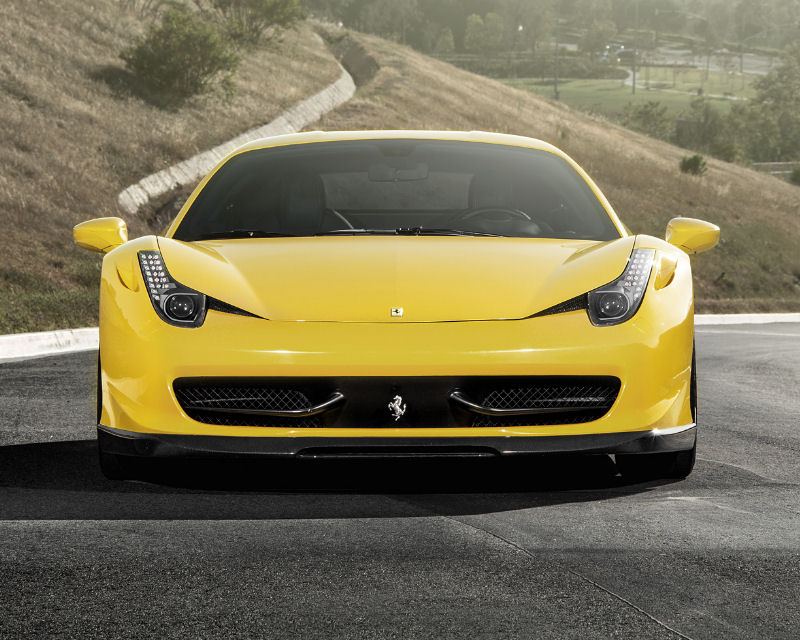 Vorsteiner Aero Front Center Splitter Replacement Ferrari 458-V 10-15