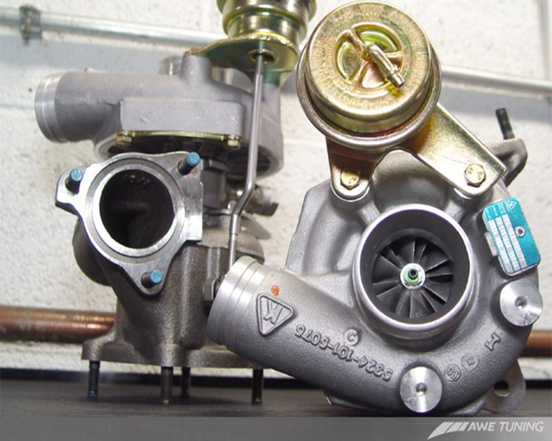 AWE Tuning K24 Turbocharger Complete Kit Porsche 996 Turbo 3.6L 01-05