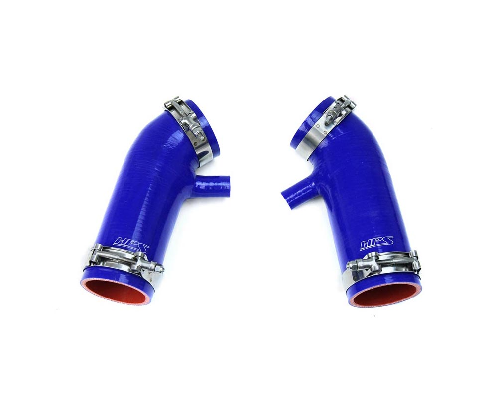 HPS Reinforced Silicone Post MAF Air Intake Hose Blue Infiniti G35 Sedan 3.5L 07-08